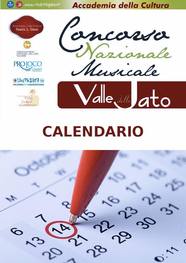 Calendario Concorso Musicale